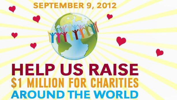 Yoga Aid Challenge 2012 στις 9/9 με 20 χώρες, 200 εκδηλώσεις, και στόχο να συγκεντρωθούν πάνω από 1 εκατομμύριο δολλάρια για κοινωφελείς σκοπούς. Η Ελλάδα συμμετέχει με καταξιωμένους δάσκαλους.