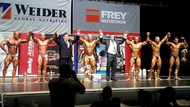 Τη 2η θέση κατέκτησε ο Χρήστος Πιστόλας στην Bodybuilding Ανδρών 2 και την 3η θέση ο Βασίλης Βραχνής στην Bodybuilding Junior στο NAC Universe 2015 που διεξήχθη το Σάββατο (28/11) στο Αμβούργο.