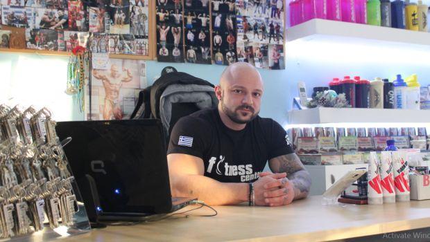Ο πρωταθλητής Bodybuilding, Άρσης Βαρών, και Χειροπάλης Βασίλης Φισατίδης, αποκλειστικά στο XBody.gr.