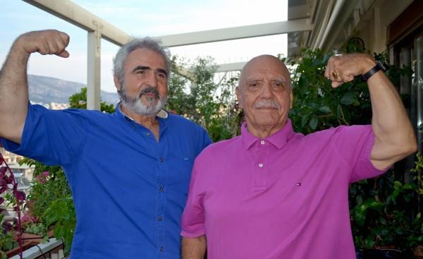 Γιώργος Μποτίνης και Τάκης Κάβουρας (2015).