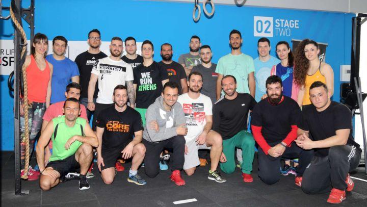 Φωτορεπορτάζ από το Advanced Weightlifting Seminar 2 του Χρόνη Τραστόγιαννου που διεξήχθη στο Train for Life στις Σέρρες μεταξύ 2-3 Απριλίου 2016.