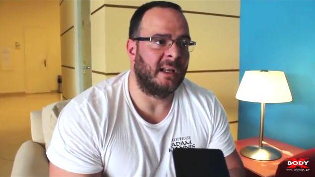 Ο Βαγγέλης Κόης, διοργανωτής του 2ου Athletic Events 2016 (Powerlifting, Armwrestling, Strongman, Tug of War) στην Αμάρυνθο Ευβοίας, μιλάει αποκλειστικά στο XBody.gr για τον αγώνα.