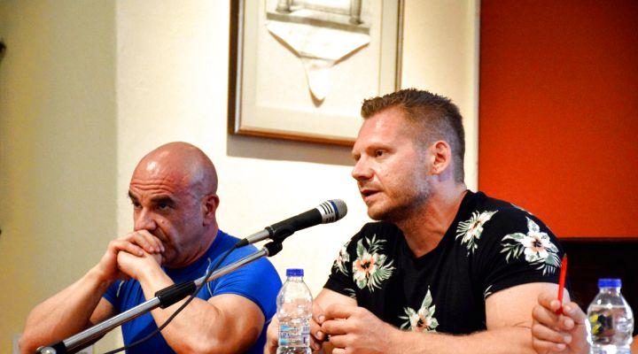 3 ώρες βίντεο από την 1η Ανοιχτή Συζήτηση XBody.gr Διατροφής, Προπόνησης, και Συμπληρωμάτων Διατροφής που έλαβε χώρα στην Πλάκα στις 3/6.