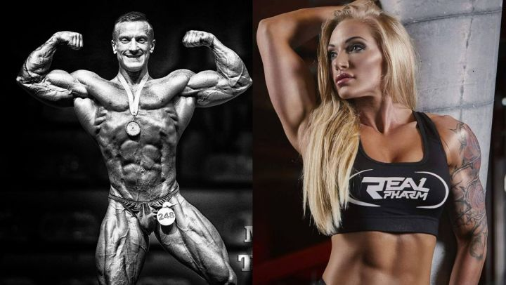 Οι Πολωνοί πρωταθλητές Alina Pettke και Mariusz Tomczuk προσκεκλημένοι του FlexEat το Νοέμβριο στην Αθήνα και στο IFBB Diamond Cup Athens 2016.