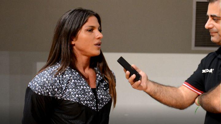 Η νέα IFBB Physique Pro της Ελλάδας, Αναστασία Παπουτσάκη μιλάει αποκλειστικά στην κάμερα του XBody.gr μετά το IFBB Diamond Cup Athens 2016. Μια σύντομη αναδρομή στην πορεία της ως εδώ.