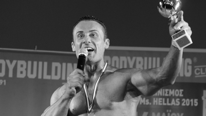 Έφυγε πρόωρα από τη ζωή την Παρασκευή (19/5/17) ο γνωστός πρωταθλητής bodybuilding Σωκράτης Πετίδης.