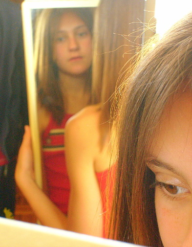 Girl Mirror, Photo Credit: charmaineswart, morguefile.com