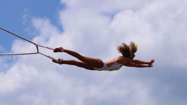Woman Trapeze, Photo Credit: jade, morguefile.com
