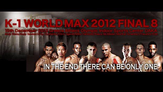 Δεν τα κατάφερε ο Μιχάλης Ζαμπίδης απέναντι στον Σουριναμέζο Murthel Groenhart στα ημιτελικά του K-1 World Max Final 8 2012. Αποτελέσματα, videos.