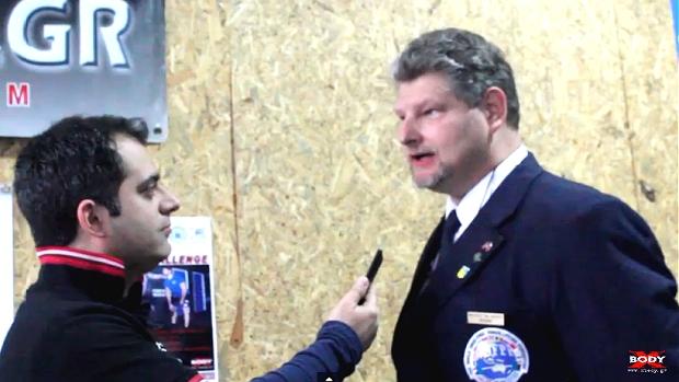 Αποκλειστική συνέντευξη του XBody.gr με τον πρόεδρο Wim Bakelant και τον αντιπρόεδρο Neil Thomas της WDFPF, στο περιθώριο του Hellenic Challenge 2015.