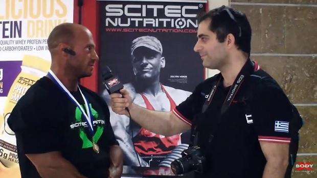 Ο Γιώργος Αθανασίου, νικητής της κατηγορίας Bodybuilding Ανδρών -90kg στο 28ο Πανελλήνιο Πρωτάθλημα Σωματικής Διάπλασης της IFBB-ΕΟΣΔ μιλάει αποκλειστικά στην κάμερα του XBody.gr.