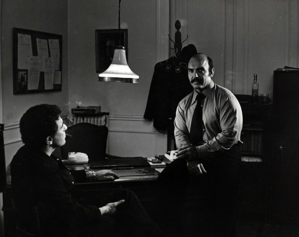 """Ο Τάκης Κάβουρας στην ταινία """"Μέδουσα"""" (1973)."""