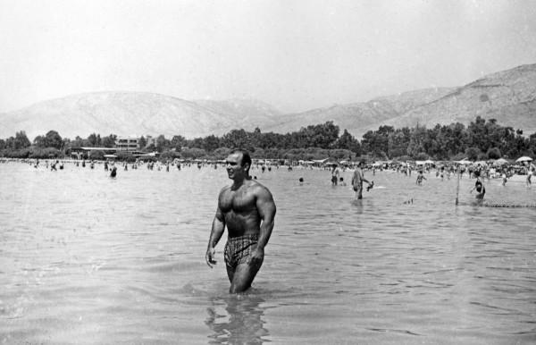 Ο Τάκης Κάβουρας το 1965.