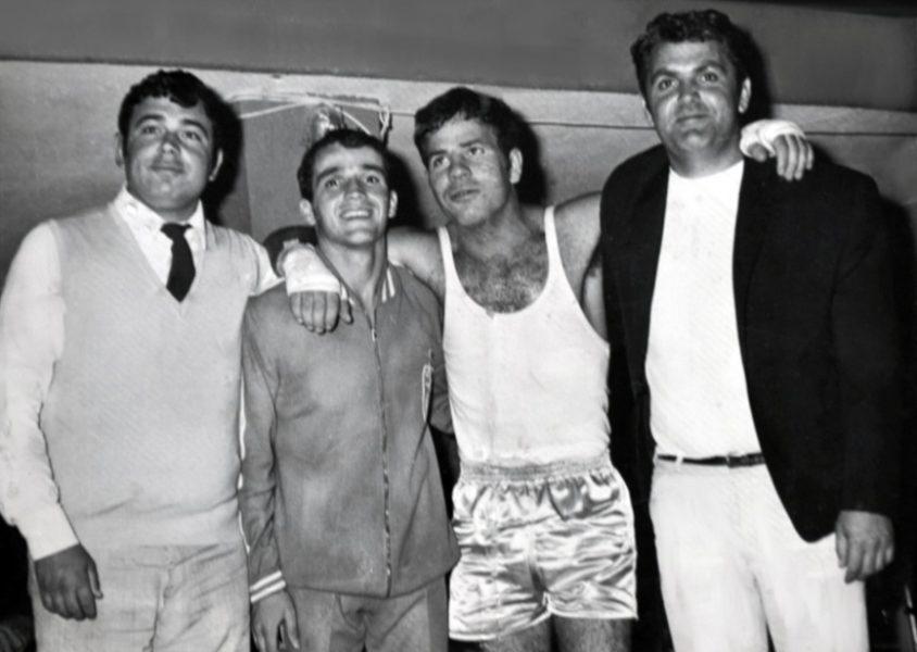 Δ. Γιακουμάτος, Π. Σολωμός, Π. Θεριανός, Κ. Γαλανός.