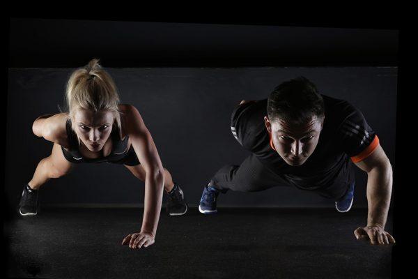 one-arm push ups